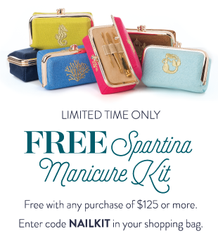 Free Spartina Manicure Kit with purchase
