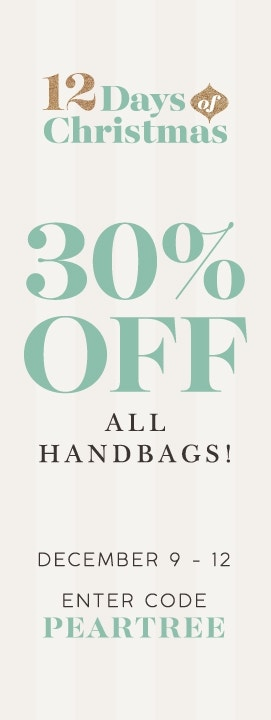 12 Days - 30% off Handbags